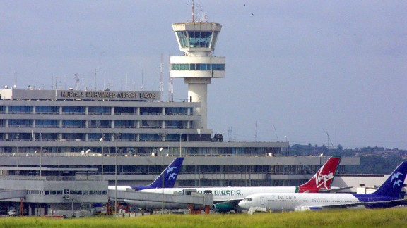 Murtala Mohammed International Airport in Lagos, where United Airlines recently announced it won't fly to anymore. Nigeria is said to owe airlines nearly $600 million in airline fares, according to the International Air Transport Association.