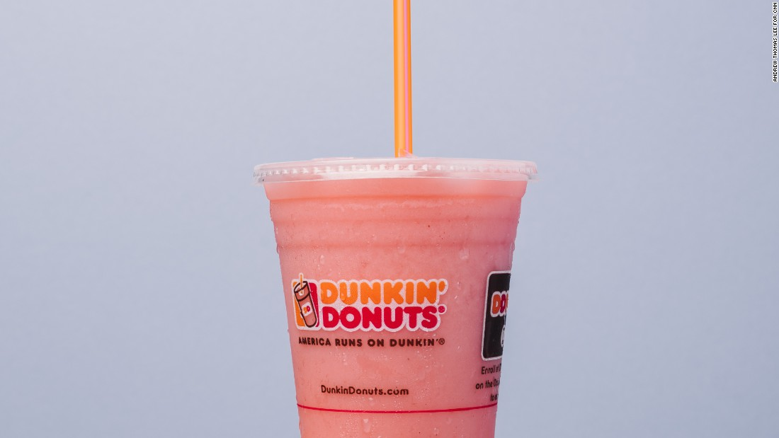 For those looking for something gluten-free at a gluten-filled doughnut chain, the strawberry banana smoothie is safe, but you may want to split it with a friend to slash sugar calories.