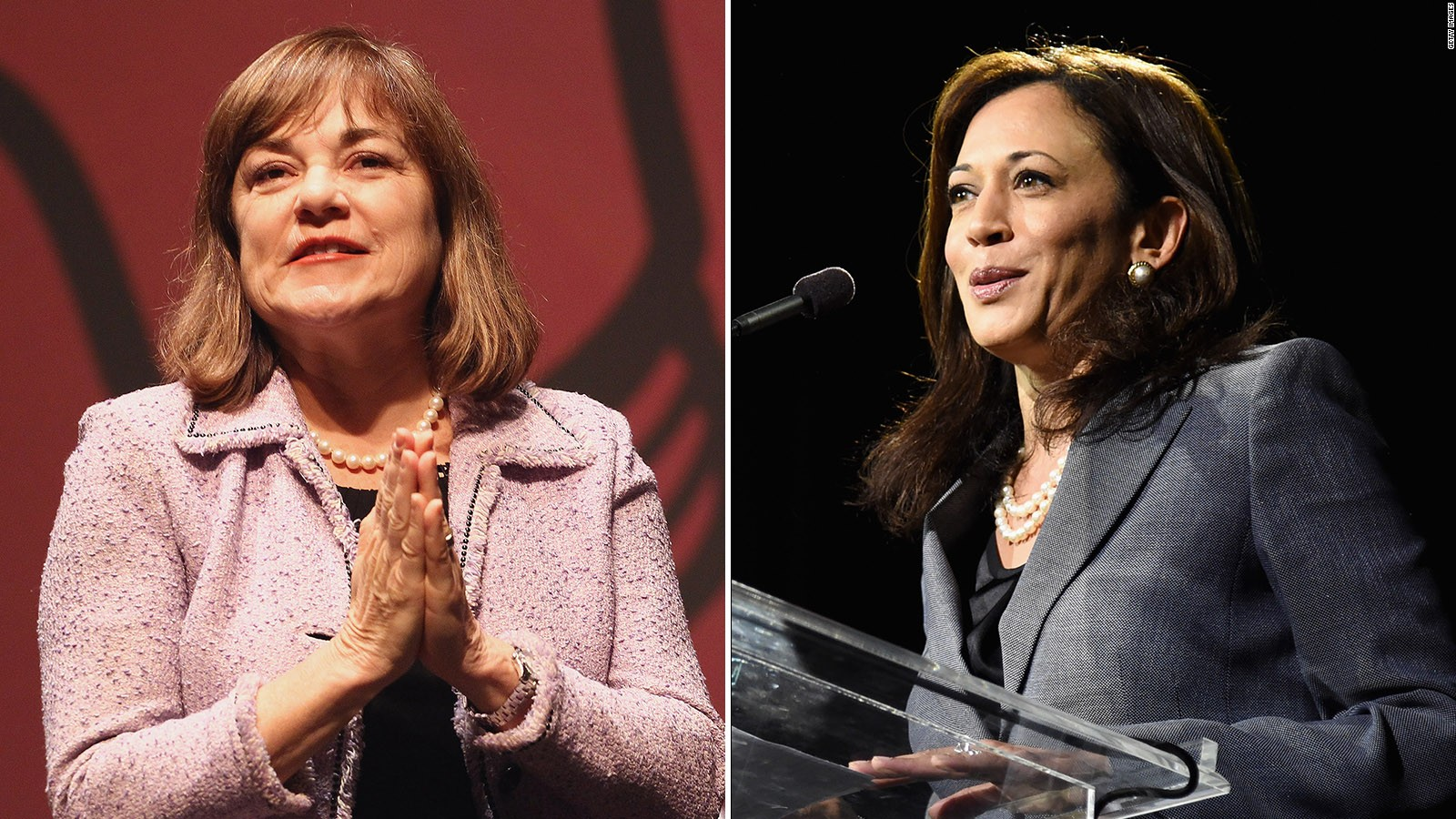 Loretta Sanchez Dabs In California Senate Debate Kamala Harris Not Amused Cnnpolitics