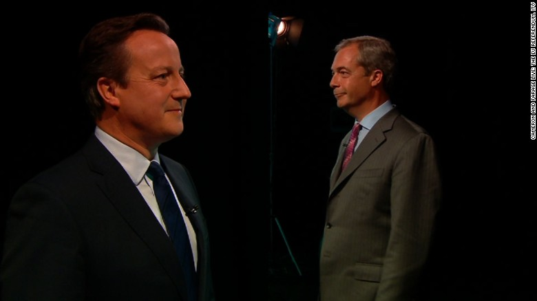 Leaders debate UK referendum to leave the EU