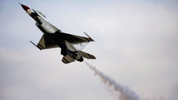 <strong>June 2, 2016:</strong> A U.S. Air Force Thunderbirds F-16 crashes near the Air Force Academy in Colorado.