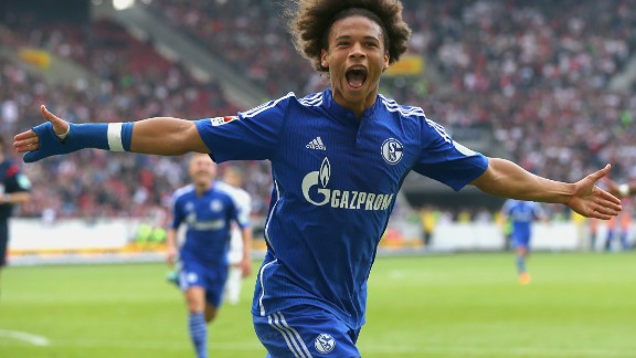 """His mother was an Olympic bronze medalist in gymnastics from Germany while his father played football for Senegal. Sane has managed to neatly combine the two, becoming a Germany football international.  The right winger made his debut for Schalke 04, where he came up through the ranks, in 2014. His rise has been such that then Bayern coach Pep Guardiola praised his """"great talent"""" ahead of the teams' meeting last November.  That month Sane made his Germany debut in a 2-0 defeat against France in an international overshadowed by terror attacks. National coach Joachim Loew highlighted the youngster's pace, technique and desire to take on opponents.  A dribbler who can break a game with a bit of magic, the nimble Sane -- who already has a Champions League goal at the Bernabeu to his name -- can play anywhere behind the striker.  He may be tied to Schalke until 2019, but that isn't stopping an avalanche of media interest about a possible move to Bayern, with Guardiola's Manchester City and Jose Mourinho's Manchester United also heavily linked."""