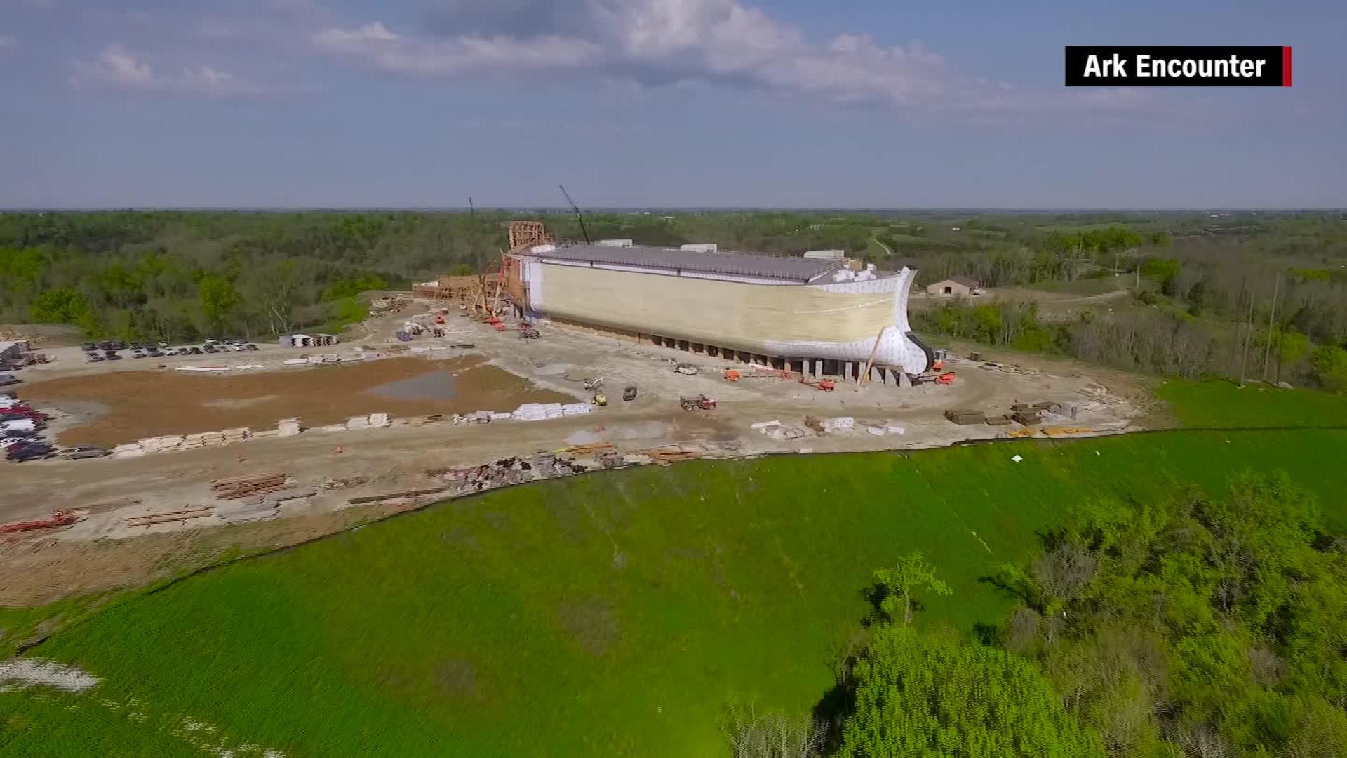 Full-scale Noah's Ark being built in Kentucky - CNN Video
