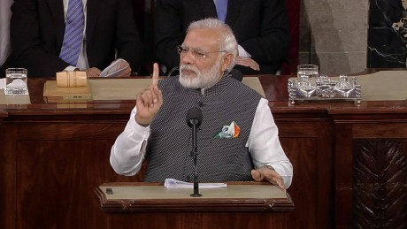 Modi addresses Congress as U.S.-India ties bloom