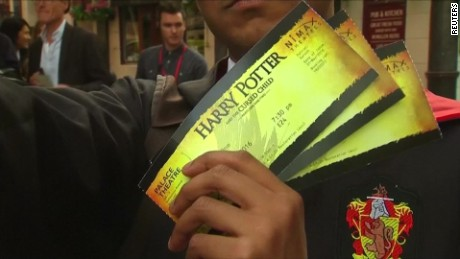 'Harry Potter' hits the stage in London
