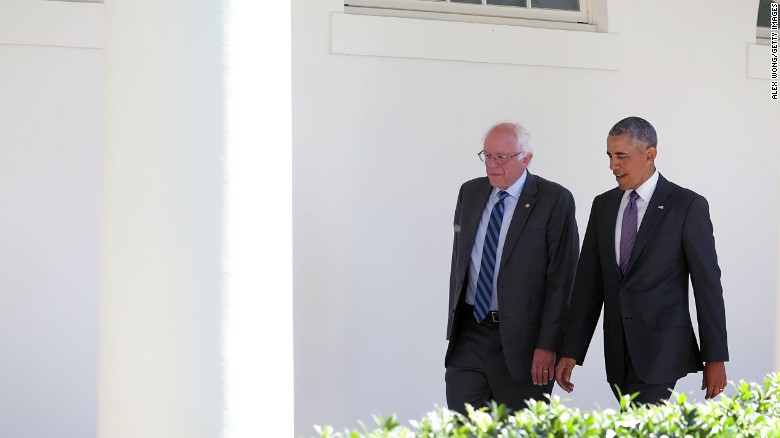 Sanders looks foward to working with Clinton