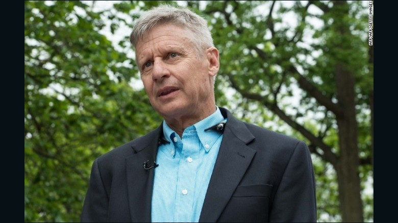 Gary Johnson: Campaign moving toward $20 million