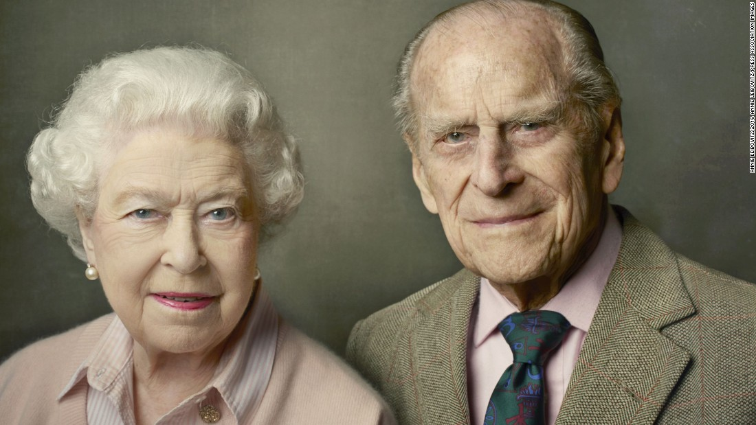 On June 10, 2016, Buckingham Palace released a new official photograph to mark the Queen's 90th birthday. It shows her with Prince Philip, and it was taken at Windsor Castle just after Easter.