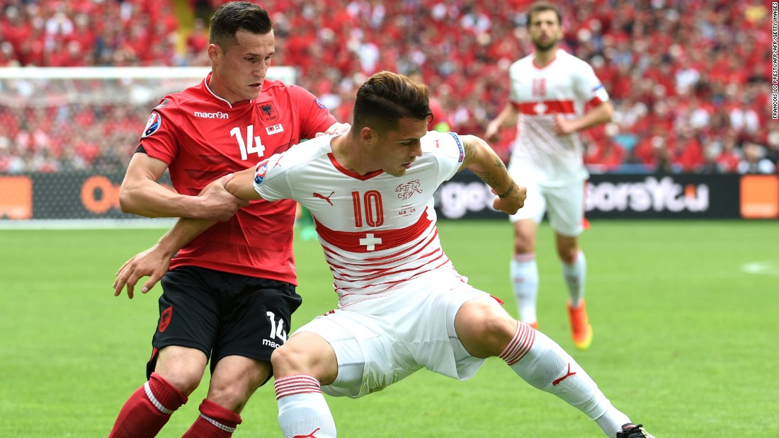 Euro 2016 Switzerland Albania Cnn