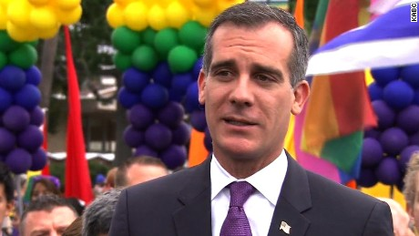 LA mayor: We are targeted, but we continue to love