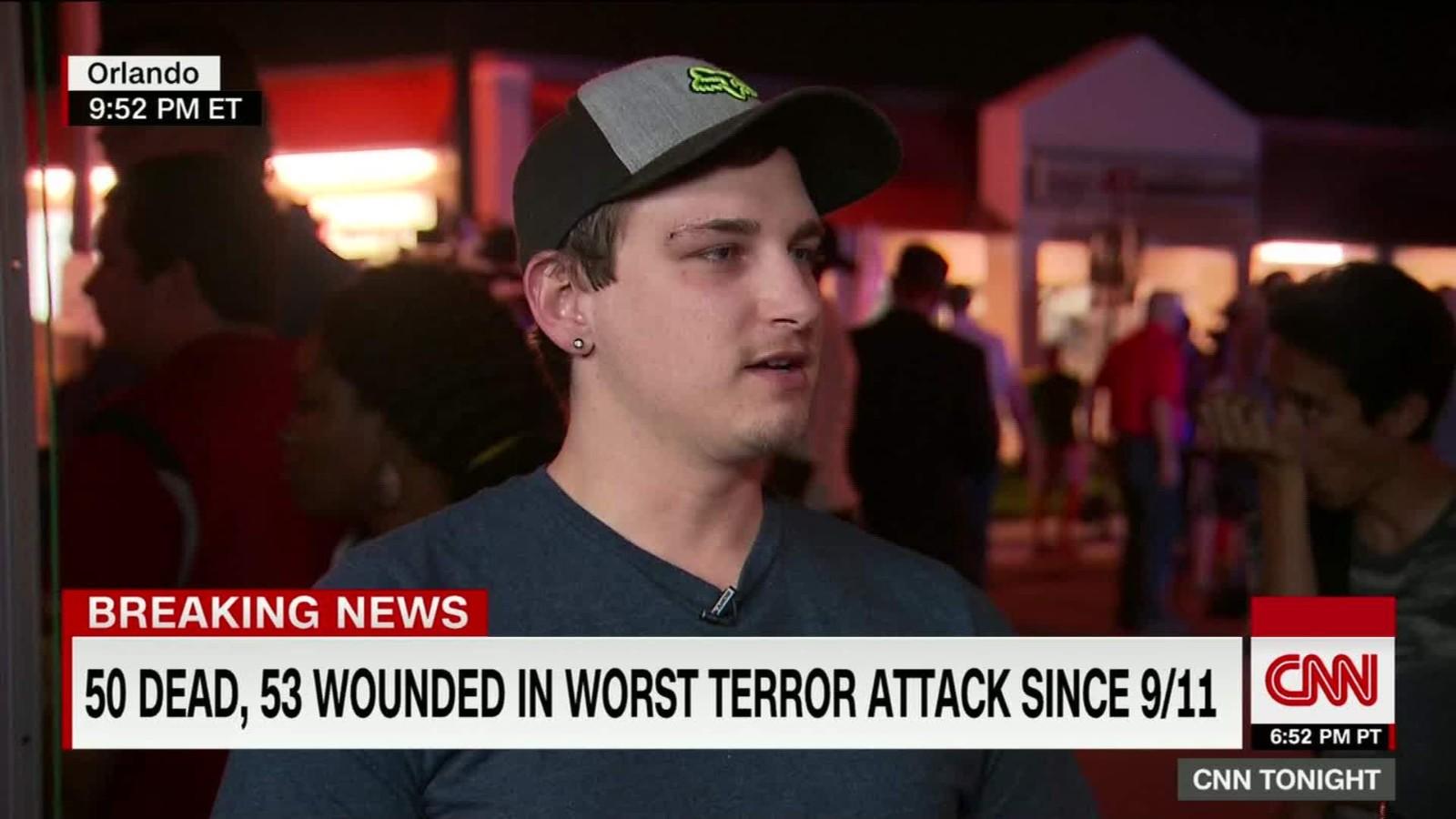 Orlando Shooting Heroes Among Us Cnn