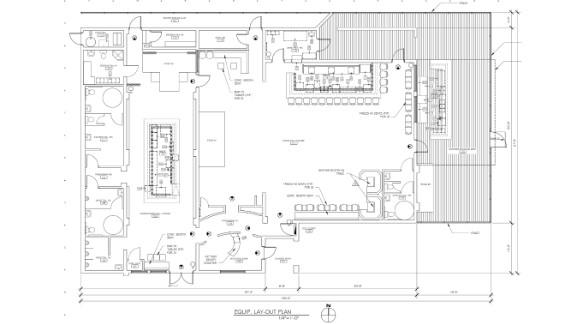 The blueprint of Pulse nightclub