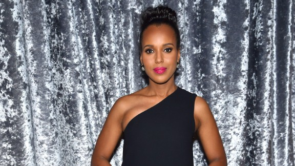 """Scandal"" star Kerry Washington joined Ellen Pompeo of ""Grey's Anatomy"" and Viola Davis of ""How to Get Away With Murder"" -- along with their boss, Shonda Rhimes -- in a video endorsing Clinton."