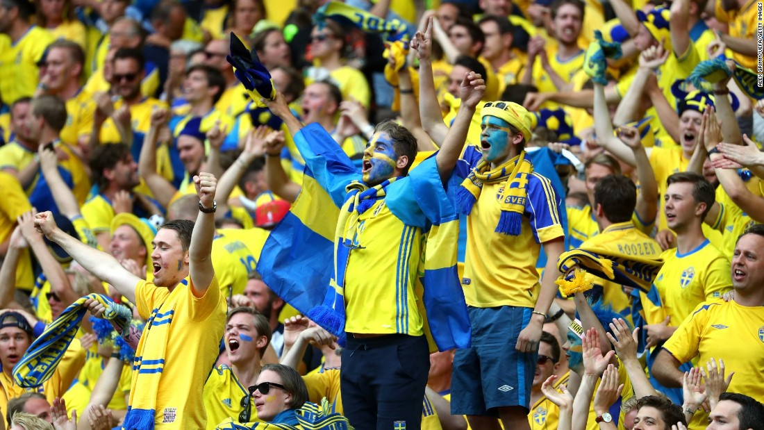 Sverige Ireland