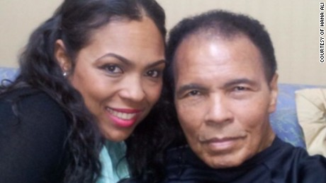 Hana Ali and Muhammad Ali