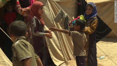 Tales of abuse and horror from fleeing Iraqi civilians