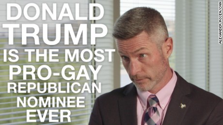 Donald Trump is the most pro-gay Republican nominee ever