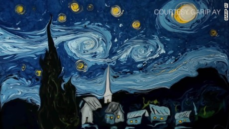 spc van gogh painting recreated on water garip ay_00004509