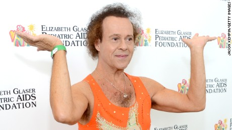 "LOS ANGELES, CA - JUNE 02:  Richard Simmons attends the Elizabeth Glaser Pediatric AIDS Foundation's 24th Annual ""A Time For Heroes"" at Century Park on June 2, 2013 in Los Angeles, California.  (Photo by Jason Kempin/Getty Images for EGPAF)"