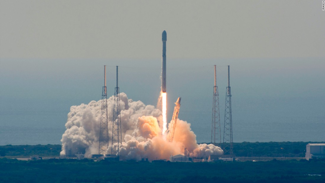Spacex Launches Satellites Loses Rocket Cnn