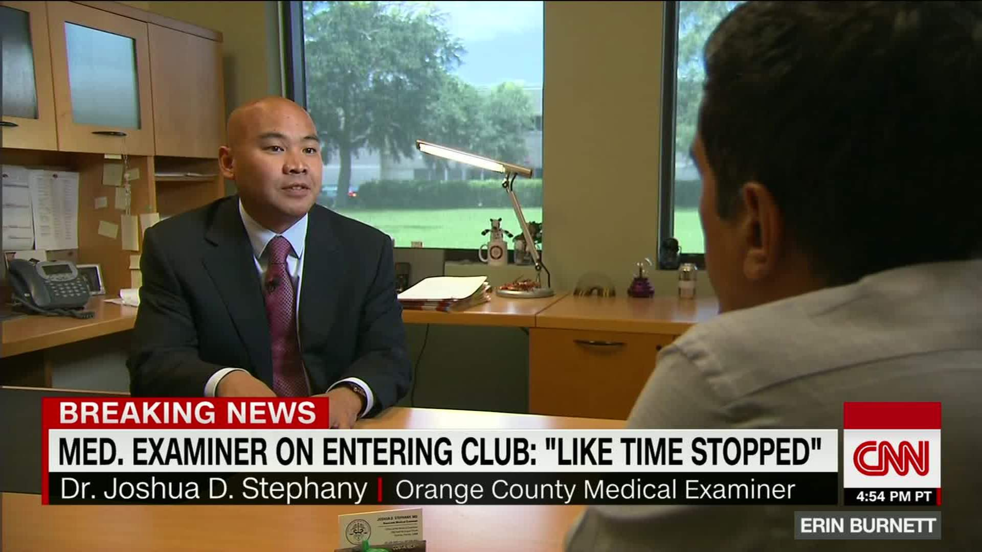 Medical Examiner Job Description Medical Examiner Describes Orlando Club  After Shooting CNN Video 19