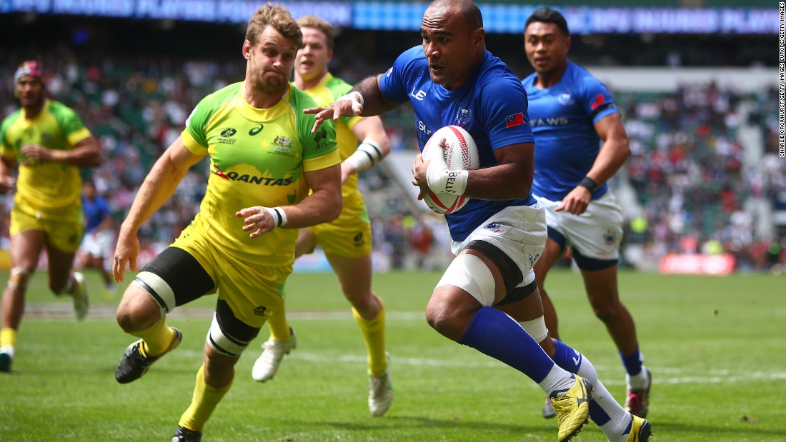 At the London Sevens in May, Russia was beaten in this Bowl quarterfinal against Samoa but reached the bottom-tier Shield final, losing to Kenya 31-7.