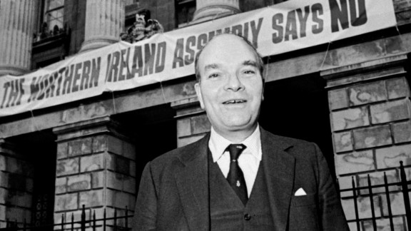 Conservative lawmaker Ian Gow was murdered by the IRA in 1990.