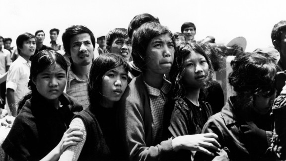 Vietnamese refugees began arriving in the United States at the end of the Vietnam War in 1975. Migration from the southeast Asian country continued over the years, and Vietnamese now make up the sixth-largest immigrant group in the country. Since 1975, the United States has resettled more than 3 million refugees from around the world. Click through the gallery to learn more.