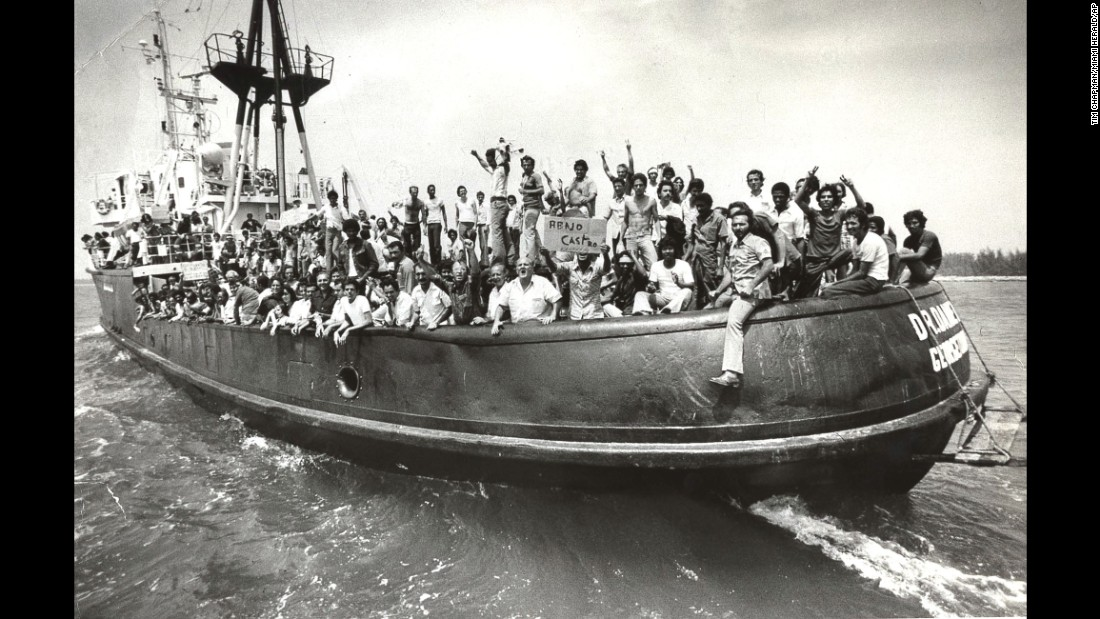 Amid economic shortages and growing dissent in their homeland, more than 125,000 Cubans arrived in crowded boats in 1980. The Mariel Boatlift, as it became known, changed forever the face of Miami.