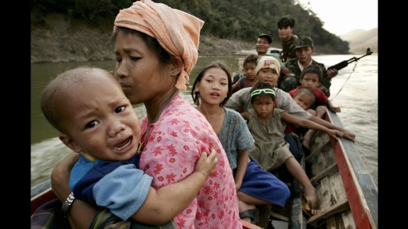 Tens of thousands of Karen people spent protracted time in refugee camps along the Myanmar-Thailand border as a result of an insurgency against the Myanmar government. In one of the world's largest recent resettlement programs, more than 70,000 Karen found new homes in the United States from 2007 on.