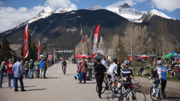 At the finish line in Silverton, riders are exhausted, their legs screaming for oxygen, but most look thrilled.
