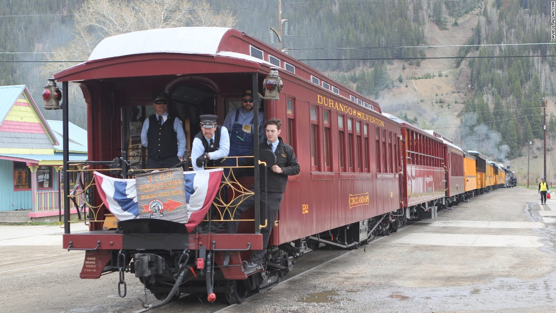 Every year, about 30% of the cyclists beat the train, which takes 3½ hours to reach Silverton.