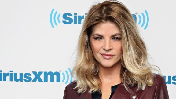 "In April, actress Kirstie Alley tweeted ""HELLO BOYS! this is my formal endorsement of @realDonaldTrump & I'm a woman!"""