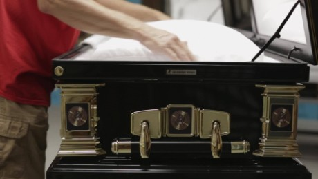 'I was making a casket for a friend'