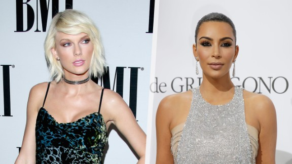 """In 2016, T<a href=""""http://edition.cnn.com/2016/06/17/entertainment/taylor-swift-kim-kardashian-gq/index.html"""">aylor Swift took issue with Kim Kardashian </a>saying that Swift knew that Kanye West would refer to her by a derogatory word in his song """"Famous."""""""