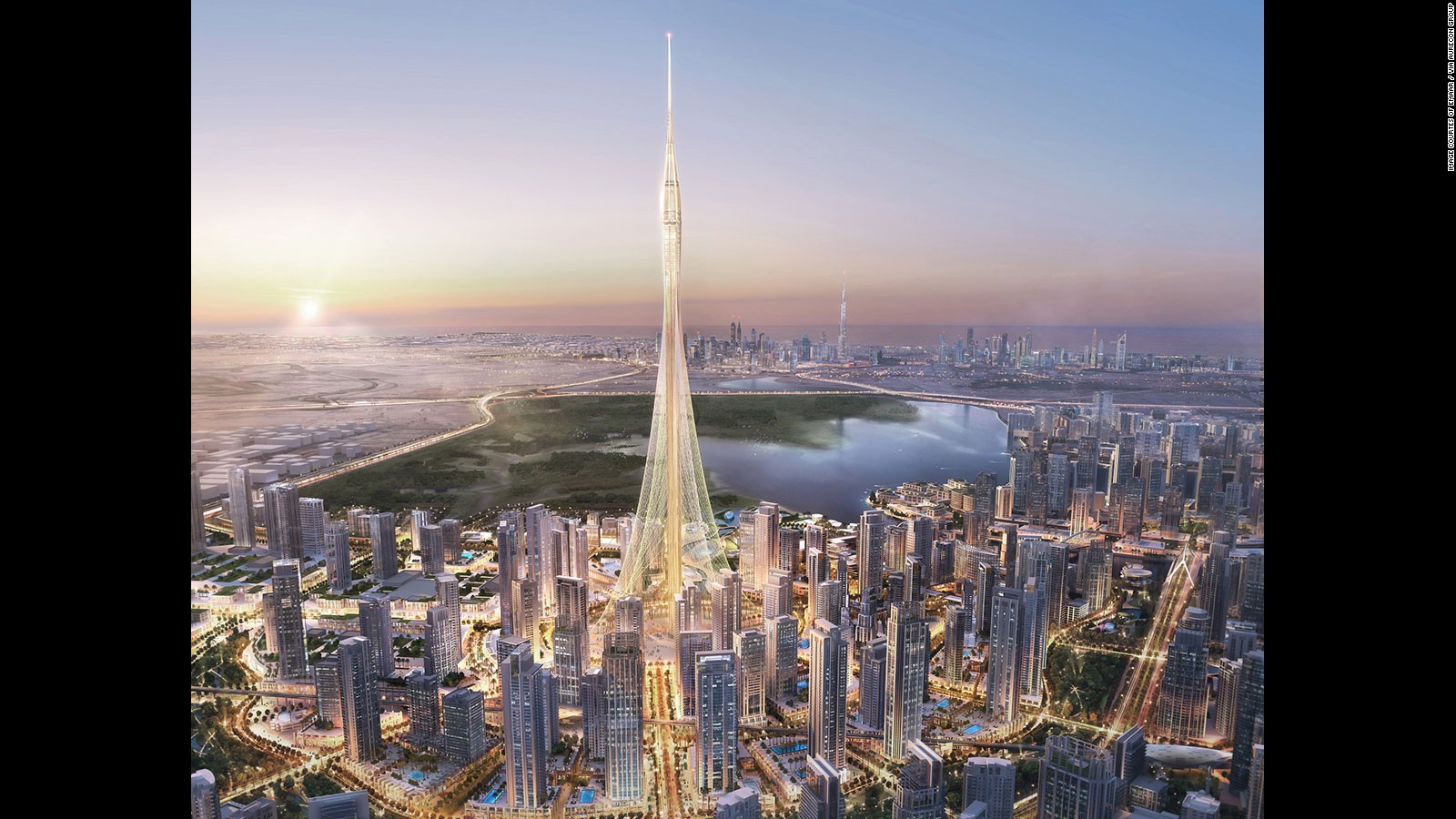 The Tallest Building In The World Jeddah Tower Is Set To Open In