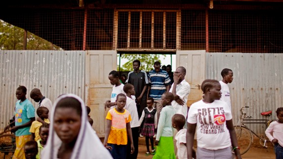 The Kakuma camp in Kenya has held tens of thousands of refugees from Sudan and elsewhere.