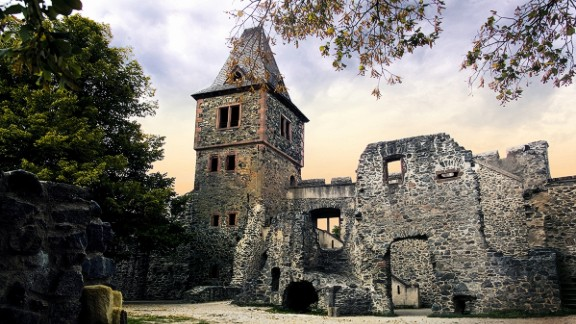 """Castle Frankenstein: Two centuries after author Mary Shelley conceived """"Frankenstein,"""" its gothic echoes can still be found across Europe. Castle Frankenstein near Darmstadt, Germany, was the birthplace of alchemist Conrad Dippel, whose purported experiments on the human bodies may have inspired Shelley."""