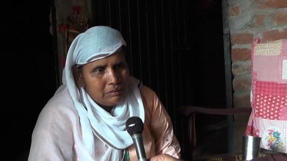 Sajilia Masih, told CNN, she wasn't home when the murder took place.