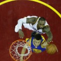 LeBron James and Steph Curry nba finals 6