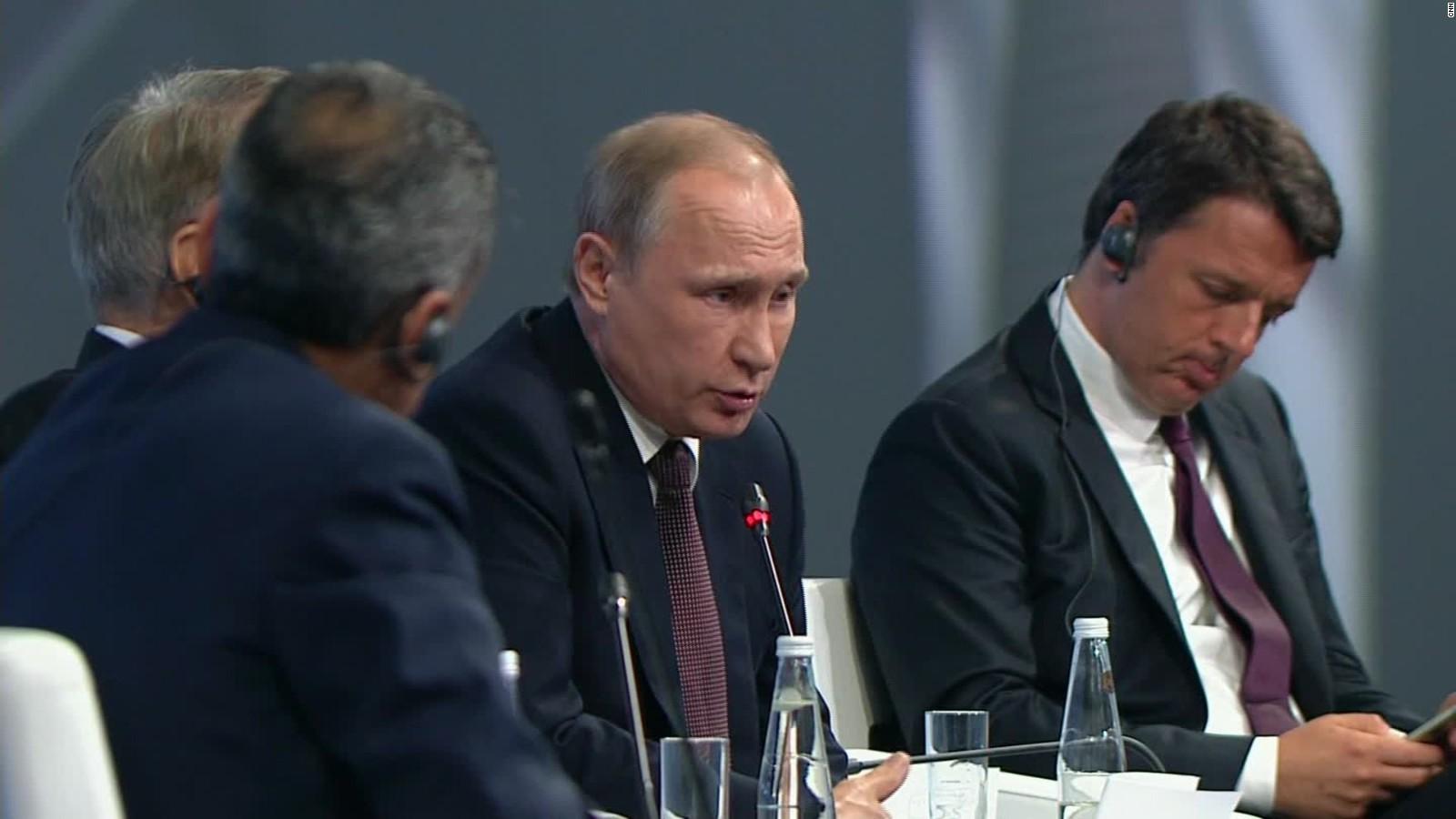 President Putin Gives Rare Access To Cnn Cnn Video