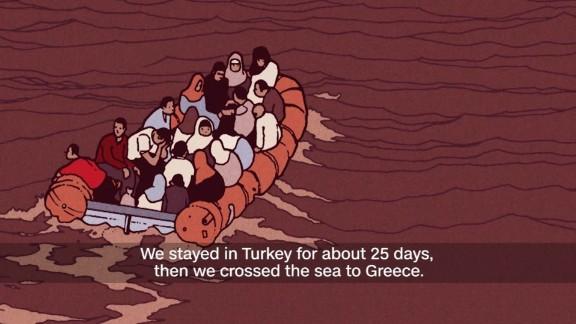 children unaccompanied refugees Greece syria journey animation_00002503.jpg
