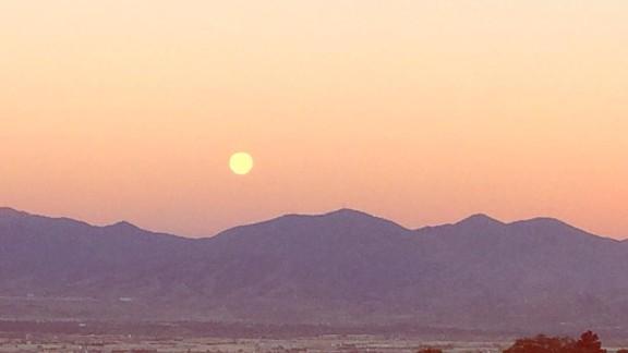 Tasha Matsumoto took this photo Monday morning, June 20, above City Creek Canyon in Salt Lake City, Utah.