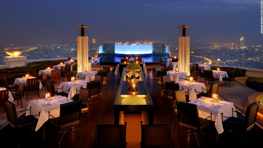 Best Rooftop And Sky High Restaurants In The World Cnn Travel
