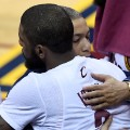Tyronn Lue and Kyrie Irving nba crying game