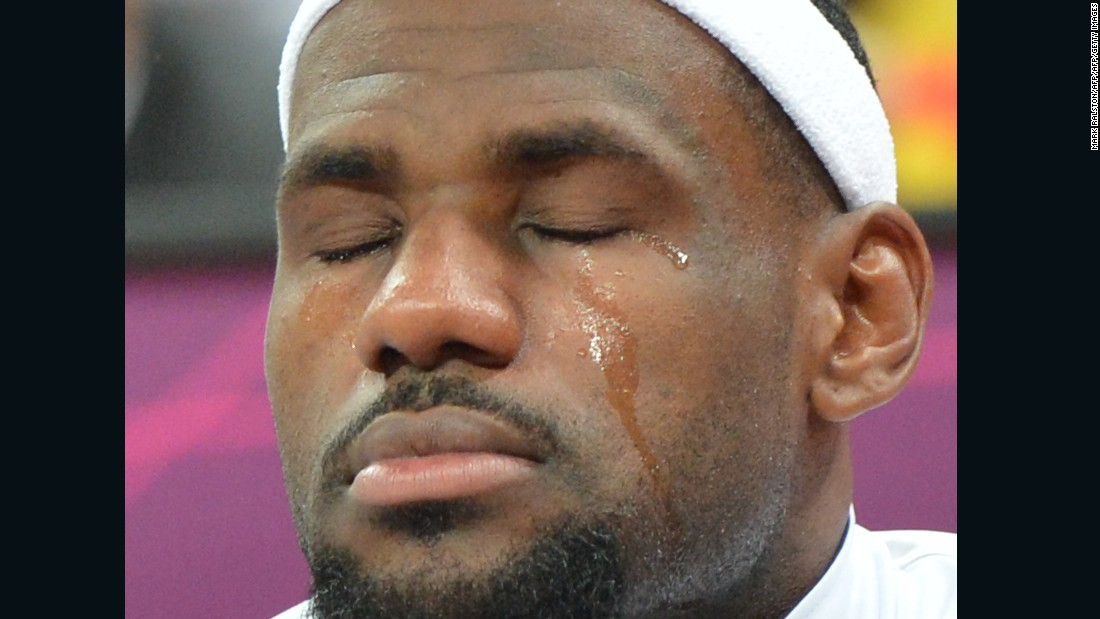 Image result for crying lebron