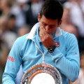Novak Djokovic the crying game