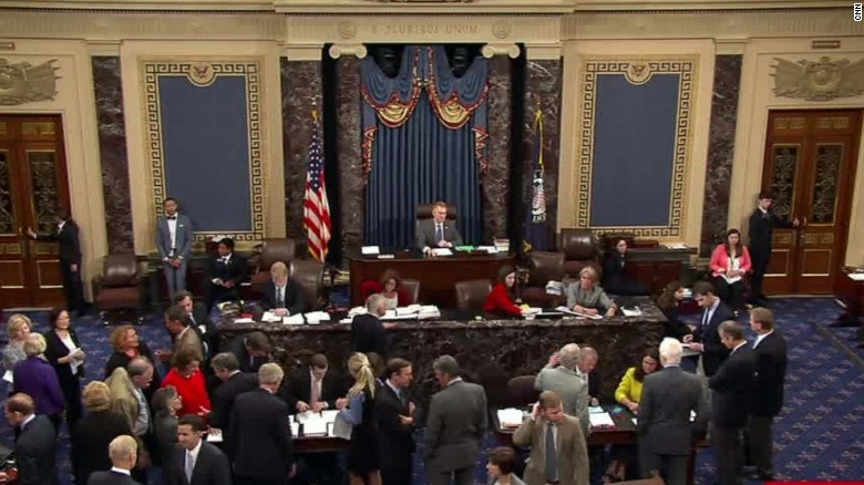 Senate votes on gun control measures