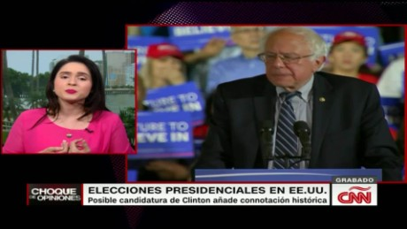 cnne choque de opiniones hillary clinton as presumptive nominee_00041714