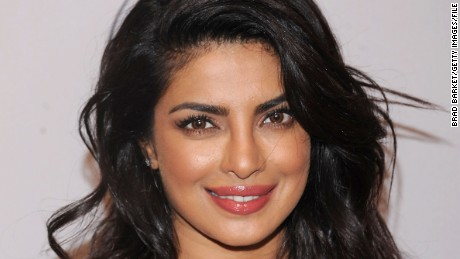 Actress Priyanka Chopra responds to a retouched magazine cover with a picture of her own.